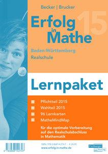 Erfolg in Mathe: Realschulabschluss Mathematik Baden-Württemberg