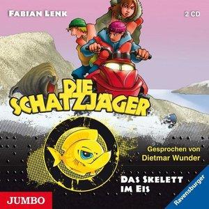 Die Schatzjäger - Das Skelett im Eis, 2 Audio-CDs