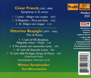 Symphonie d-moll/Pini Di Roma