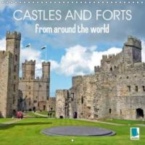 Castles and forts from around the world (Wall Calendar 2015 300