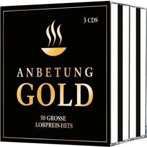 CD-Box Anbetung Gold