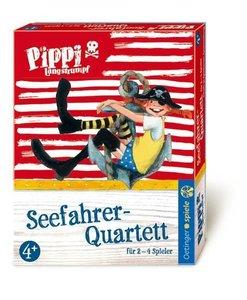 Pippi Langstrumpf Seefahrer-Quartett