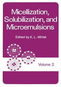 Micellization, Solubilization, and Microemulsions