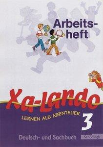 Xa-Lando 3. Neubarbeitung. Arbeitsheft. u. a. Nordrhein-Westfale