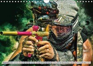 Paintball - extrem cool (Wandkalender 2017 DIN A4 quer)