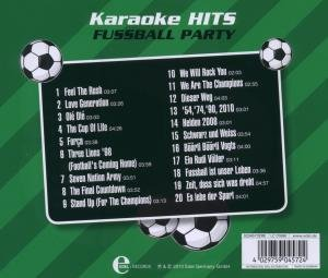 Karaoke-Hits-Fussball Party