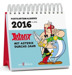 Mit Asterix durchs Jahr 2016 - Postkartenkalender