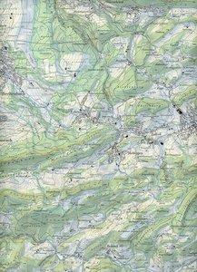 Swisstopo 1 : 25 000 Passwang