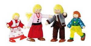 Goki 51815 - Biegepuppen Alpenhof Familie