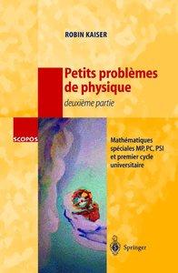 Petits problèmes de physique - deuxième partie
