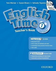 English Time 1. 2nd Edition. Teachers Book with Test Centre and