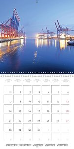 Discovering Hamburg (Wall Calendar 2015 300 × 300 mm Square)