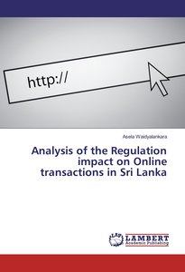 Analysis of the Regulation impact on Online transactions in Sri