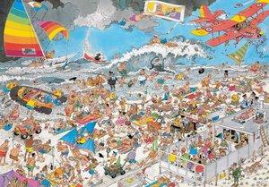 Jan van Haasteren - Am Strand - 1000 Teile Puzzle