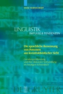Die sprachliche Benennung von Personen aus konstruktivistischer