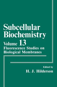 Fluorescence Studies on Biological Membranes