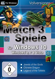Match 3 Spiele für Windows 10. Für Windows Vista/8/8.1/10