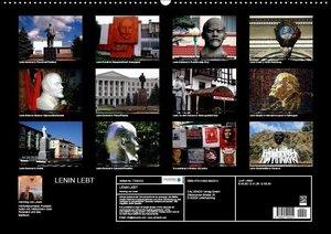LENIN LEBT (Wandkalender 2017 DIN A2 quer)