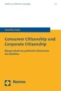 Consumer Citizenship und Corporate Citizenship