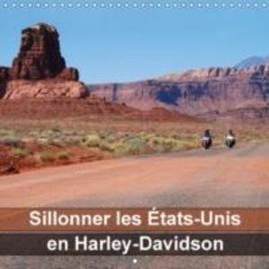 Sillonner les États-Unis en Harley-Davidson (Calendrier mural 20