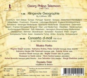 Klingende Geographie/Concerto d-moll TWV 43.d 2