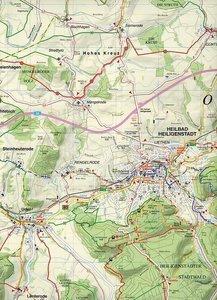 Obereichsfeld, Heilbad Heiligenstadt und Umgebung 1 : 35 000. Ra