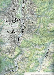 Swisstopo 1 : 25 000 Basel und Umgebung