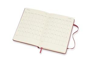 Moleskine 12 Monate Wochen Notizkalender 2018, A6 Hard Cover, Ha