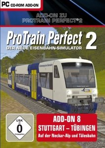 Pro Train Perfect 2 - AddOn 8 Stuttgart-Tübingen