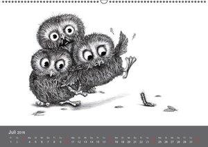 owls & friends 2016 (Wandkalender 2016 DIN A2 quer)