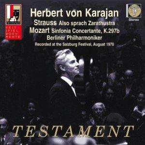 Sinfonie Concertante K 297b/Also sprach Zarath.