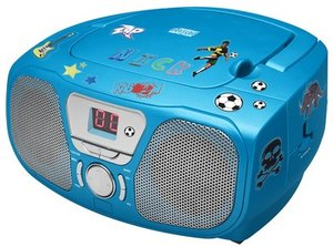 Tragbares CD/Radio CD46 Kids -blau