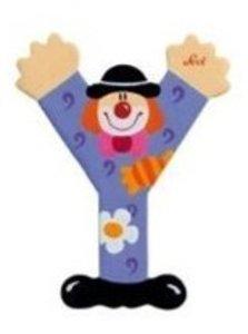 Sevi 81761 - Buchstabe: Clown Y