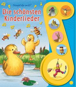 Die schönsten Kinderlieder. 6-Button-Soundbuch