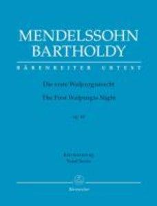 Die erste Walpurgisnacht op. 60