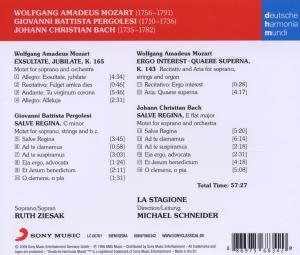 Pergolesi,Mozart,Bach