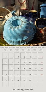 on sale - at the market (Wall Calendar 2015 300 × 300 mm Square)