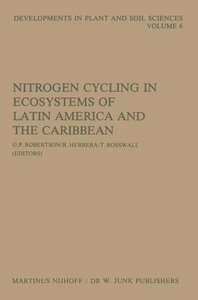 Nitrogen Cycling in Ecosystems of Latin America and the Caribbea