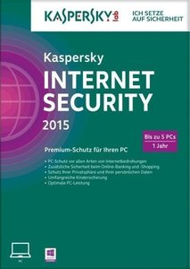 Kaspersky Internet Security 2015 5PC/1Jahr (FFP)
