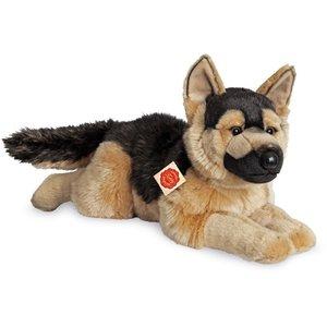 Teddy Hermann 91924 - Schäferhund liegend, 60 cm