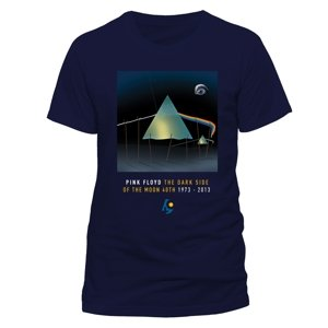 Dark Side Of The Moon Dali (T-Shirt,Blau,Gr.XL)