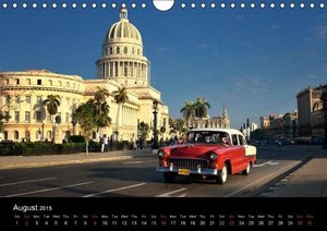 Cuba Cars (UK - Version) (Wall Calendar 2015 DIN A4 Landscape)