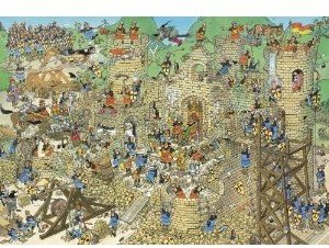 Jan van Haasteren - Mittelalter - 2000 Teile Puzzle