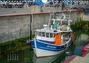 Die Küste von Nordfrankreich (Wandkalender 2016 DIN A4 quer)