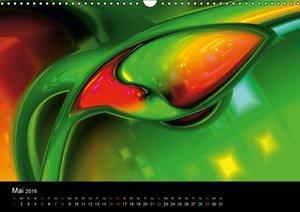 Fraktale Welten 1 (Wandkalender 2016 DIN A3 quer)