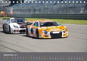 ADAC GT Masters 2017 (Tischkalender 2017 DIN A5 quer)