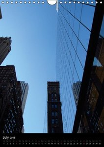 New York reflections of a big city (Wall Calendar 2015 DIN A4 Po