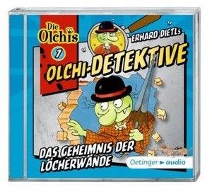 Olchi-Detektive 7 - Das Geheimnis der Löcherwände (CD)