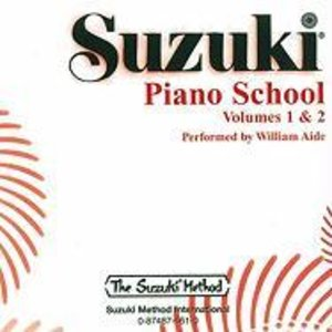 Suzuki Piano School Piano CD 1+2