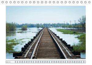 Schienen-Wege ins Irgendwo (Tischkalender 2016 DIN A5 quer)